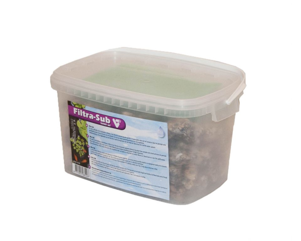 Filtra-Sub 5000 ml. voor Clear Control