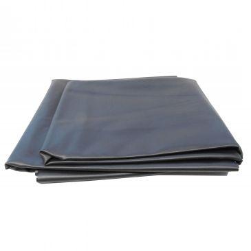 Vijverfolie PVC voorverpakt 4x4m. dikte 0,5mm.