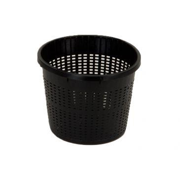Plant basket plastic rond 13cm.