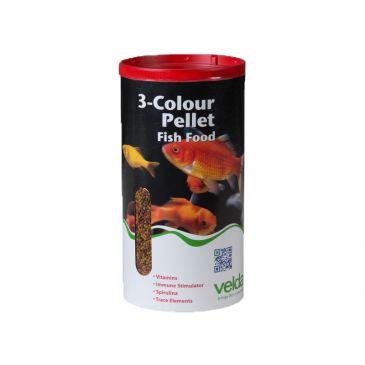 Velda 3-colour pellet food 2500ml.