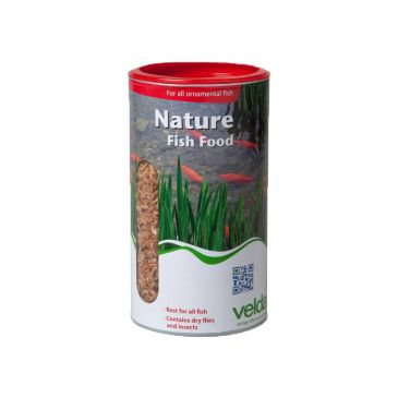 Velda nature fishfood 1250 ml.