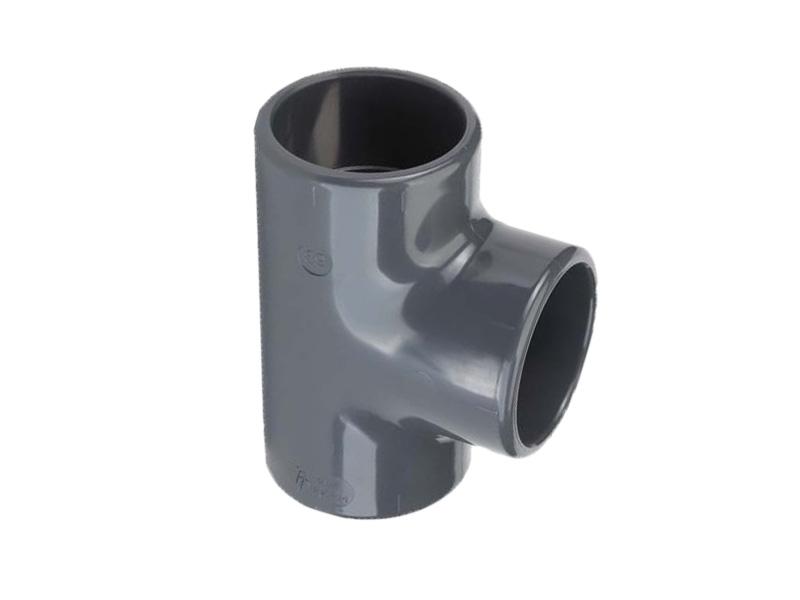 Druk PVC t-stuk 90º