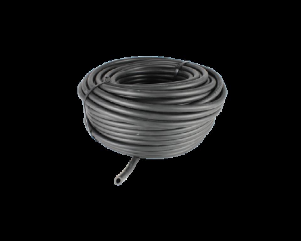 Zinkende luchtslang 4mm. rol van 10 meter