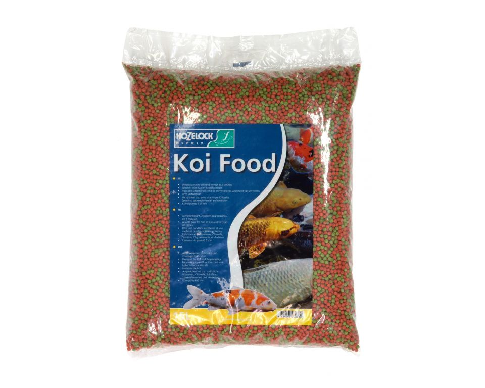 Hozelock Visvoer Koi Mix 15 Liter
