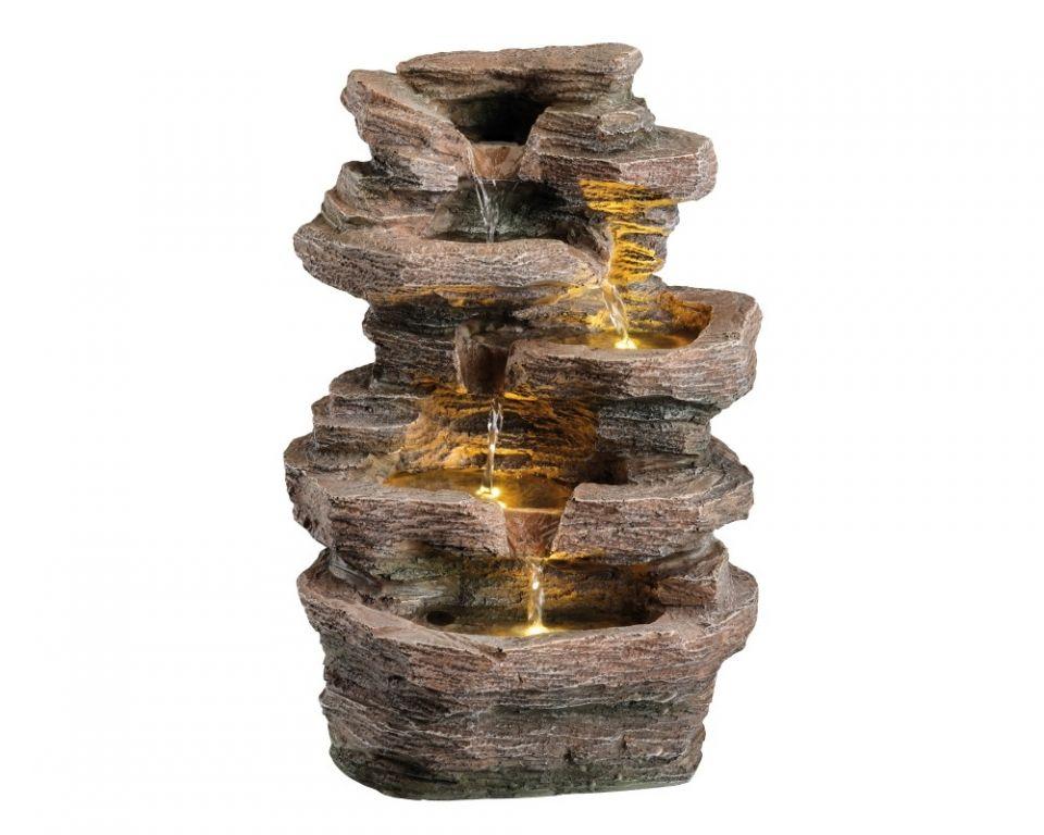 Waterornament Gouden Rots Waterval