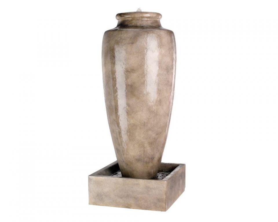 Waterornament Antiek Beige Vaas