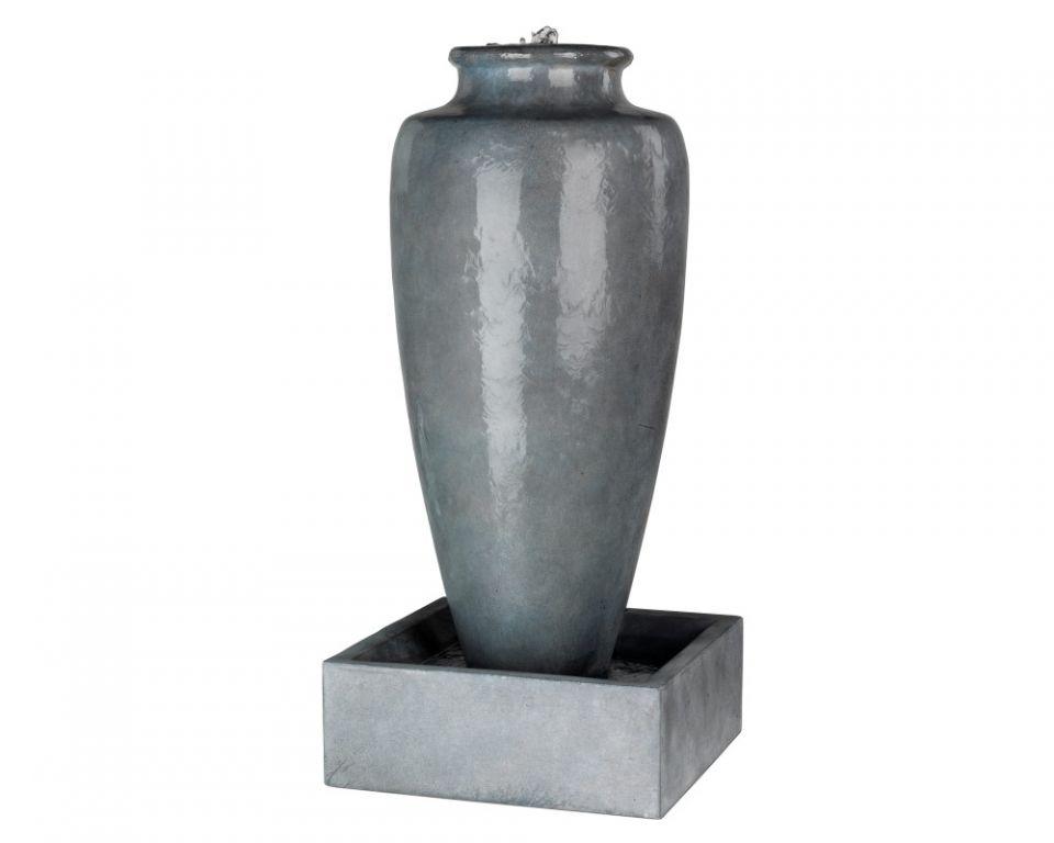Waterornament Antiek Grijze Vaas