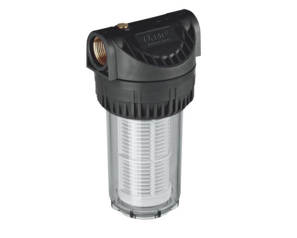 """Oase Filter lang 1"""" - voorfilter voor tuinpompen"""