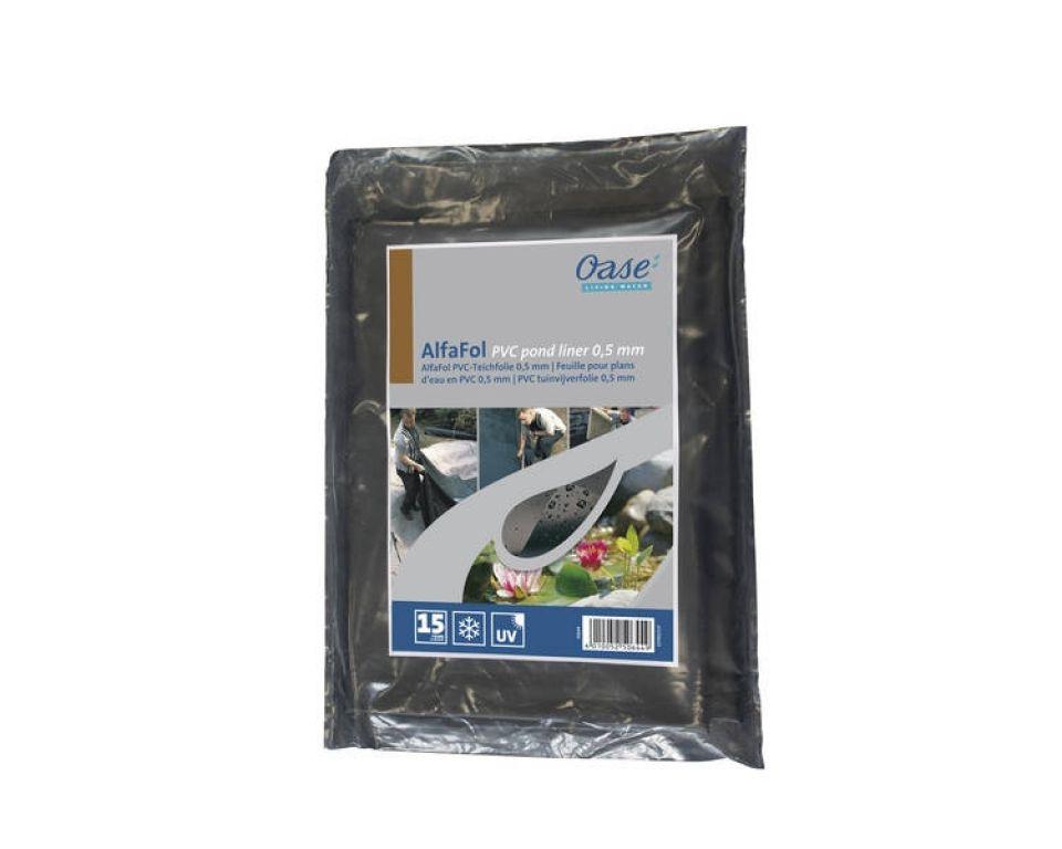 Oase AlfaFol zwart Pre-Packed 0,5mm / 2x3m PVC vijverfolie (Vijverfolie)