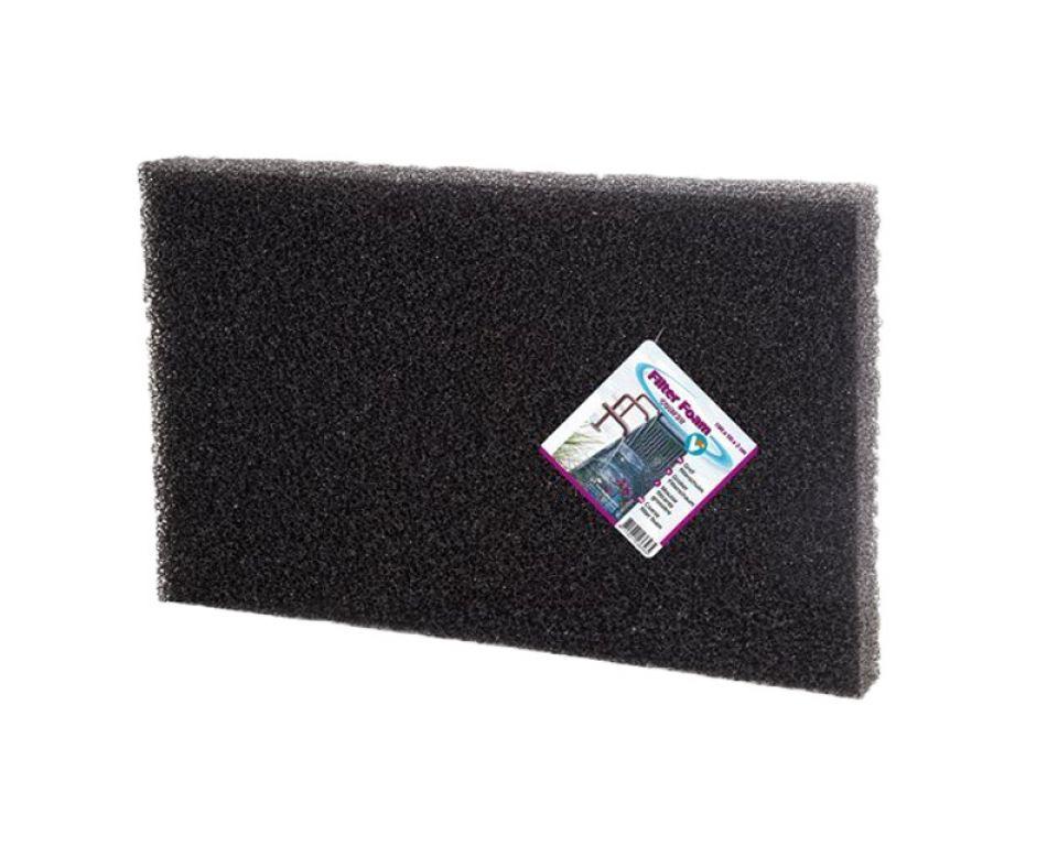 Filter foam black 100x50x2cm.