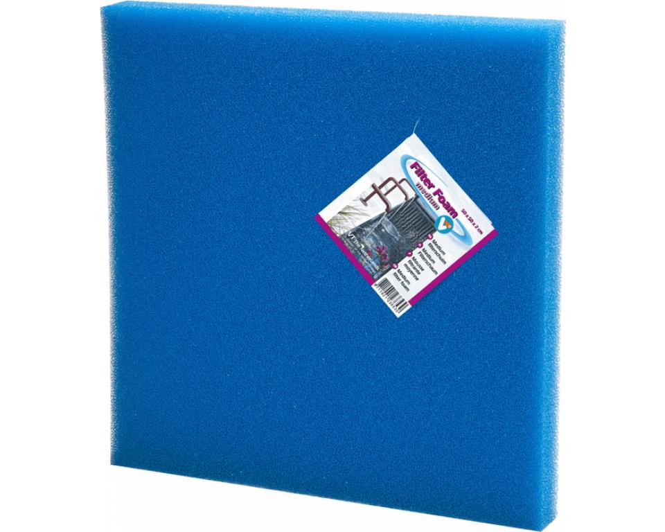 Filter foam blue 50x50x5cm.