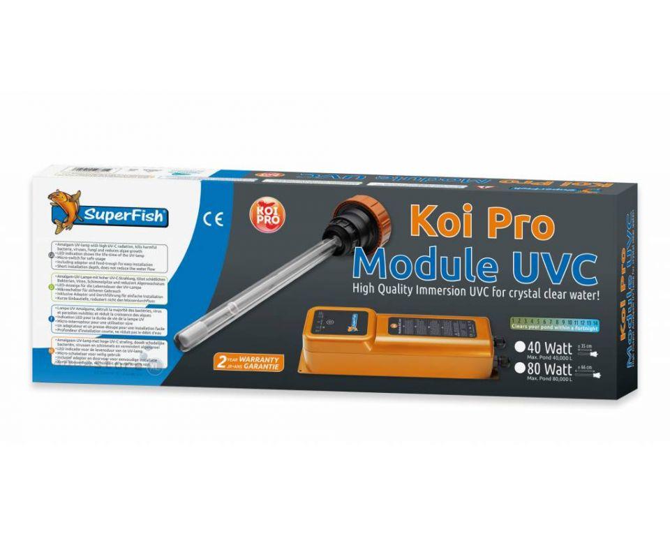 Superfish Koi pro UVC filter 80 watt Amalgaan