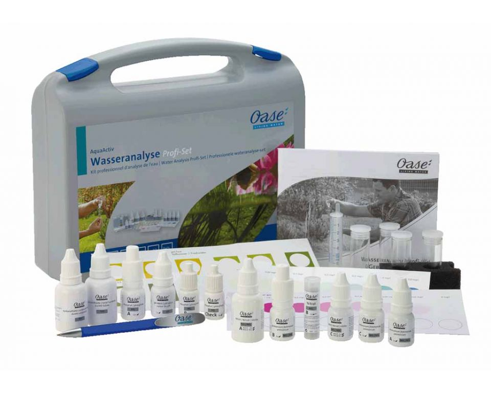 Oase professionele wateranalyse-set
