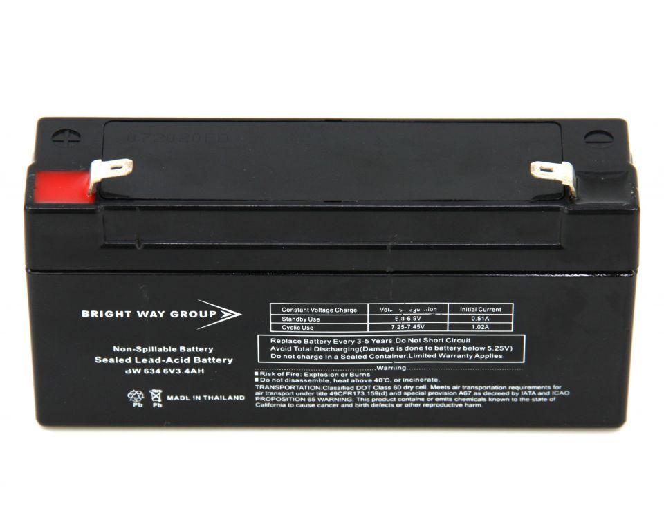 Oplaadbare batterij 6V voor Koi Café