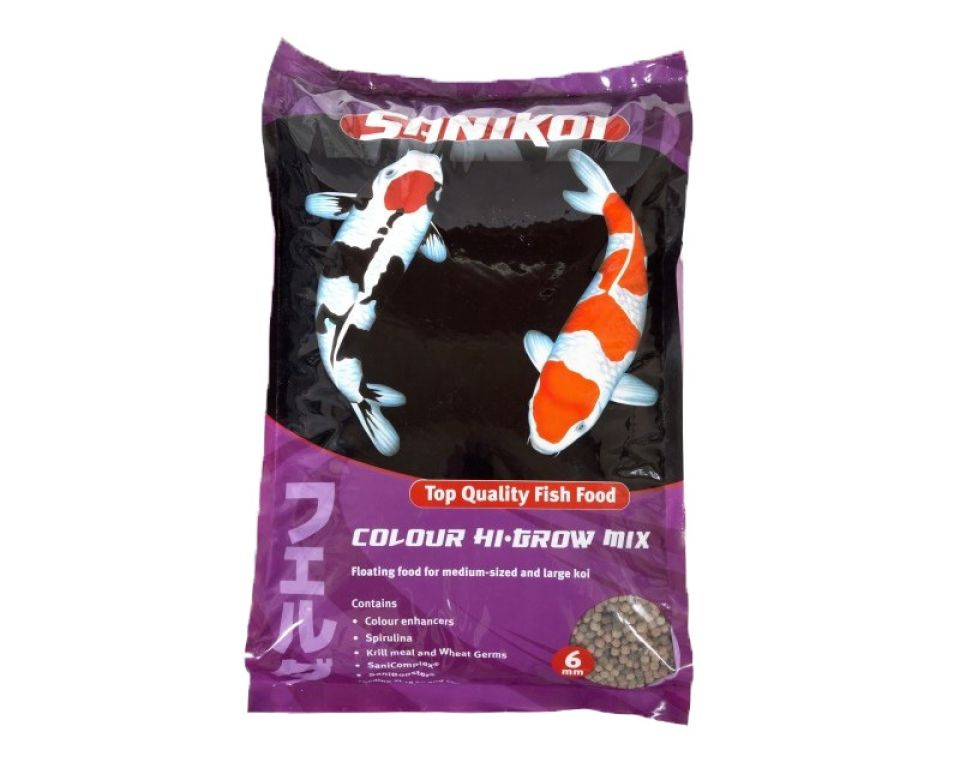 SaniKoi colour hi-grow mix 6mm. 10.000 ml.