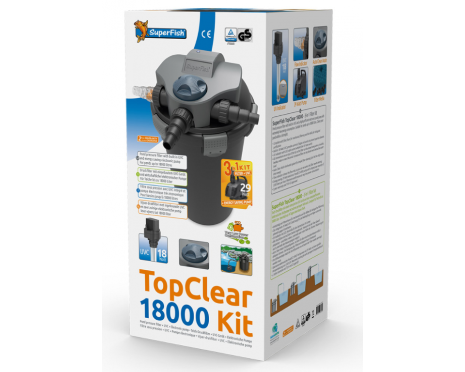 Superfish Top Clear kit 5000