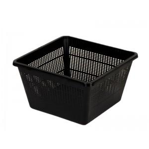Plant basket plastic vierkant 23cm.