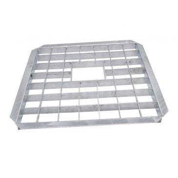 Metalen afdekrooster 40 x 40 cm