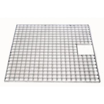 Metalen afdekrooster 80 x 80 cm