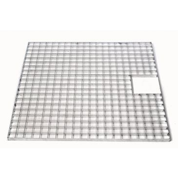 Metalen afdekrooster 100 x 100 cm