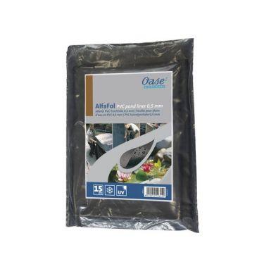 Oase AlfaFol zwart Pre-Packed 0,5mm / 5x6m PVC vijverfolie