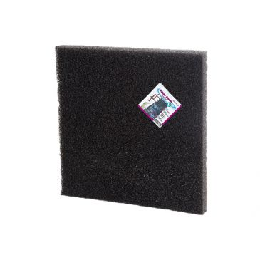 Filter foam black 50x50x2cm.