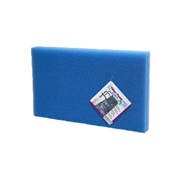 Filter foam blue 100x50x2cm.
