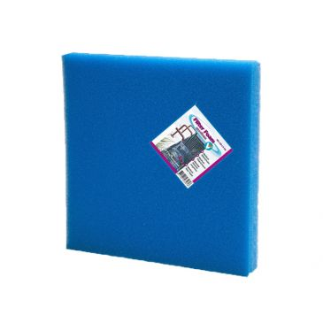 Filter foam blue 50x50x5cm.