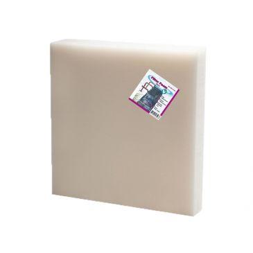 Filter foam white 50x50x2cm.
