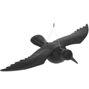 Raaf Vogelverschrikker Zwart - Vliegend