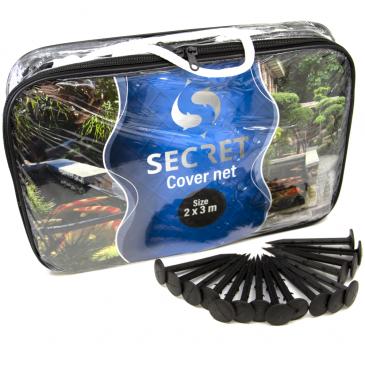 Secret cover net 2x3 meter - Vijver afdeknet - Vijvernet - Anti-reiger net
