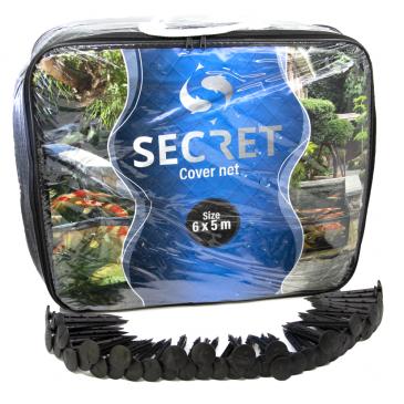 Secret cover net 6x5 meter - Vijver afdeknet - Vijvernet - Anti-reiger net