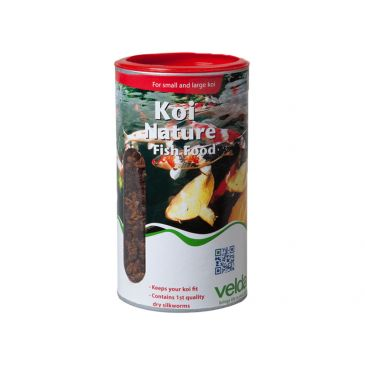 Velda koi nature fish food 2500ml.