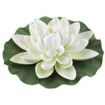 Velda Drijvende Vijverplant Lotus Wit 28 cm