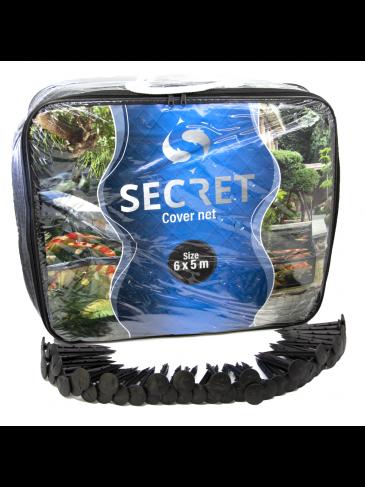 Secret 6x5m Vijvernet - Vijver afdeknet