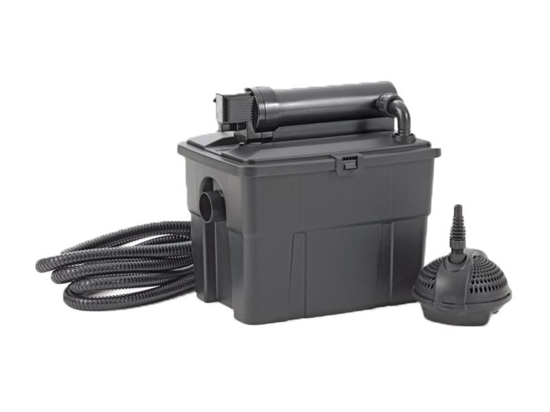 Pontec 50239 Filterset voor vijver 8000 met UVC en pomp Zwart