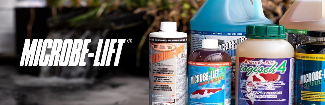 Voor Microbe-Lift vijverproducten ben je bij Vijverleven.nl aan het juiste adres